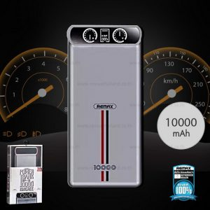 Power Bank 10000mAh RPP-18 (Black,Kingree) – แบตสำรอง REMAX