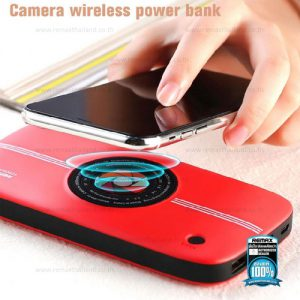 REMAX Power Bank 10000mAh (Red,RPP-91,Category Wireless)