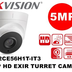 HIKVISION – DS-2CE56H1T-IT1 5 MP HD EXIR Turret Camera